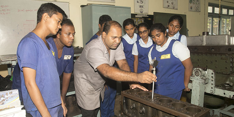 Sri Lanka is working to close the gap between available skills and market demand by ensuring the quality and relevance of its TVET courses. Photo credit: ADB.