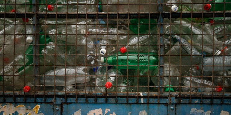 Refuse derived fuel is produced from combustible components of municipal solid waste, such as nonrecyclable plastics. Photo credit: ADB.