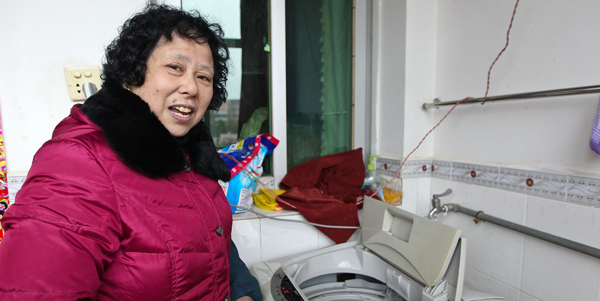 High ownership of household electrical appliances in the PRC means large volumes of scrapped electronics will need to be recycled. Photo credit: ADB.
