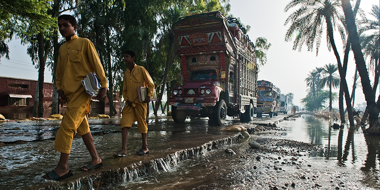 Catastrophe bonds allow climate vulnerable countries to raise capital that can be disbursed quickly as soon as pre-defined trigger events, such as a storm surge or an abnormal rise in seawater level, occur. Photo credit: ADB.