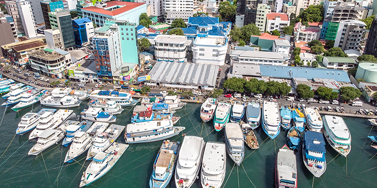 Digital technologies can improve transparency and efficiency in supply chains in Maldives. Photo credit: ADB.