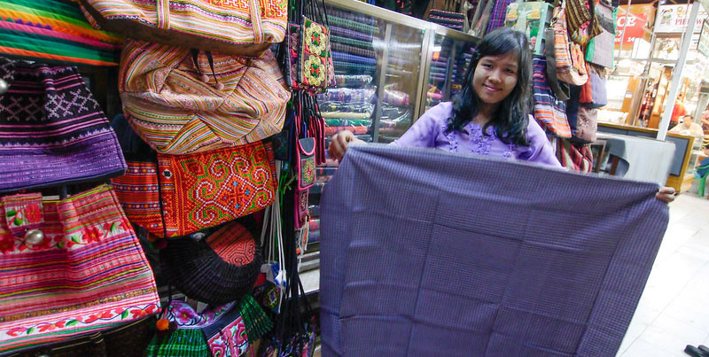 A circular economy offers various opportunities for the textile industry. Photo credit: ADB.
