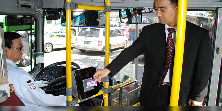 Seoul's smart card system not only enhances convenience of public transportation, but also provides a source of valuable data for the city, and tangible economic benefits for residents.  Photo credit: Seoul Metropolitan Government