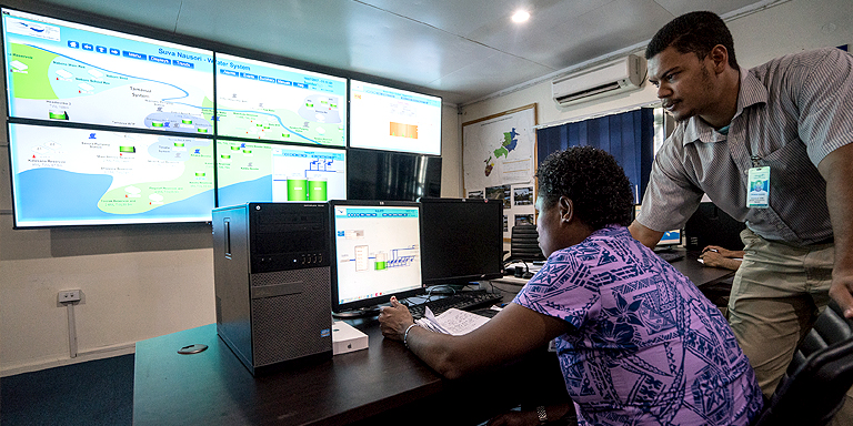 To remain competitive in the age of digital disruption, water utilities need to shift to Hydraulic Modeling 2.0, which uses artificial intelligence and big data to improve efficiency and accountability. Photo credit: Asian Development Bank.