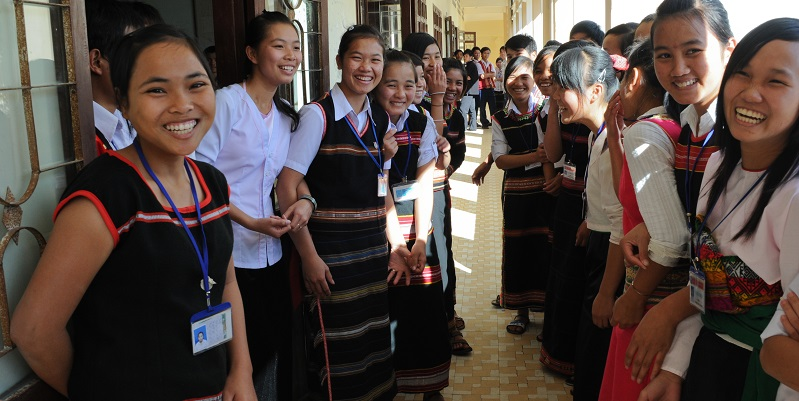 Programs that promote young women's economic empowerment need to look at the way both gender and age affect their experiences and opportunities. Photo credit: ADB.