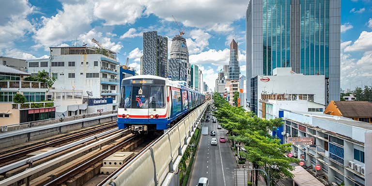 Most of the world's largest megacities of 10 million people or more are in Asia.  Photo: ADB.