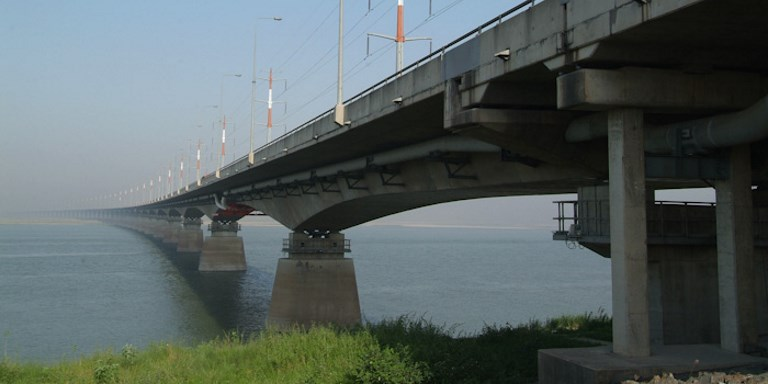 The 4.8-kilometer bridge over the Jamuna River has brought together millions of people in Bangladesh. Photo credit: ADB.