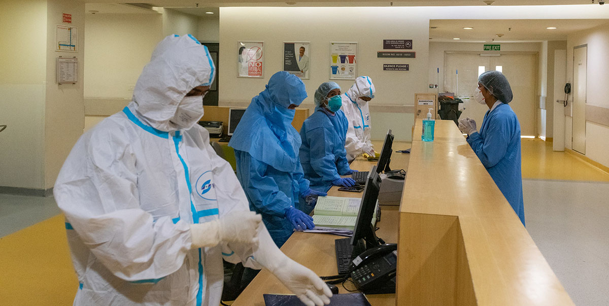 With the emergence of new variants, COVID-19 will continue to stress health systems around the world. Photo credit: ADB.