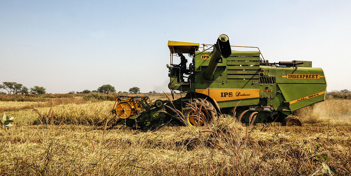 New technologies have made farming more convenient, efficient, and profitable. Photo credit: ADB.