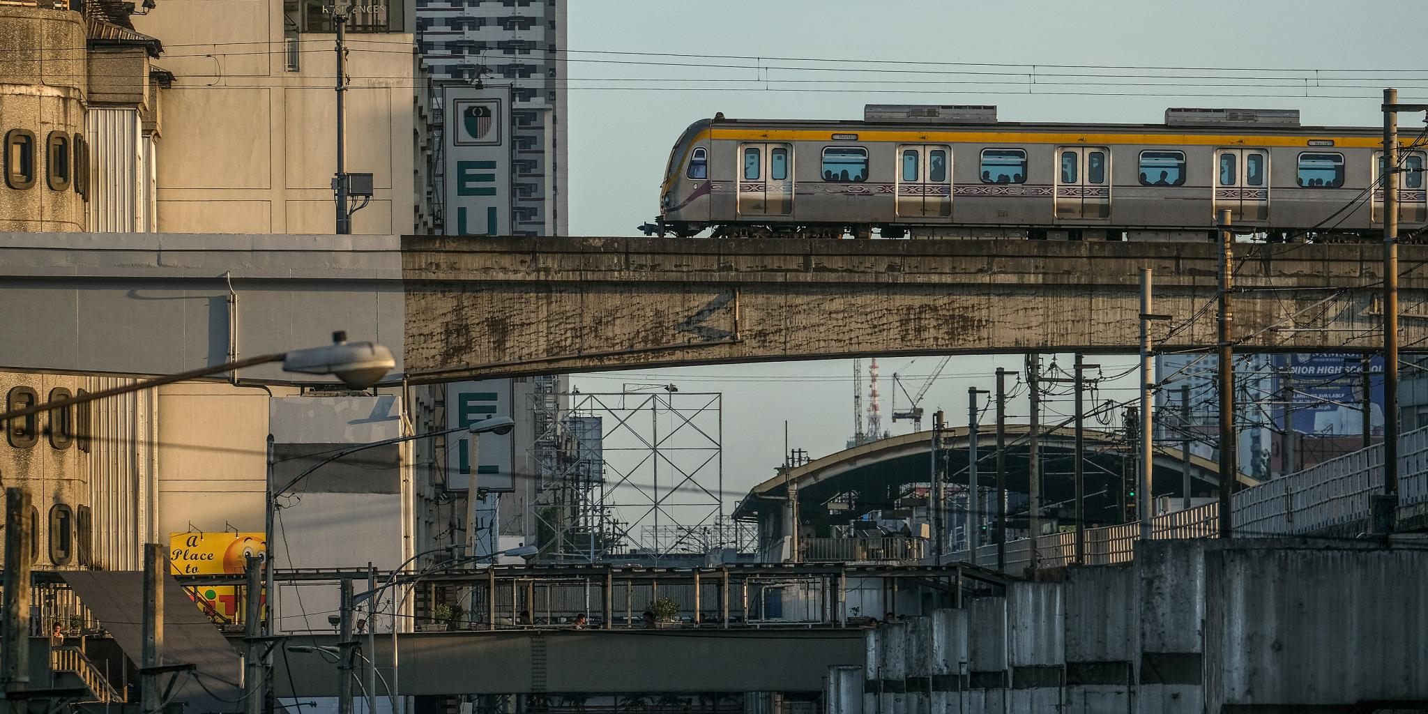 The South Commuter Railway will link to the three light rail transit lines in Metro Manila. Photo credit: Asian Development Bank.