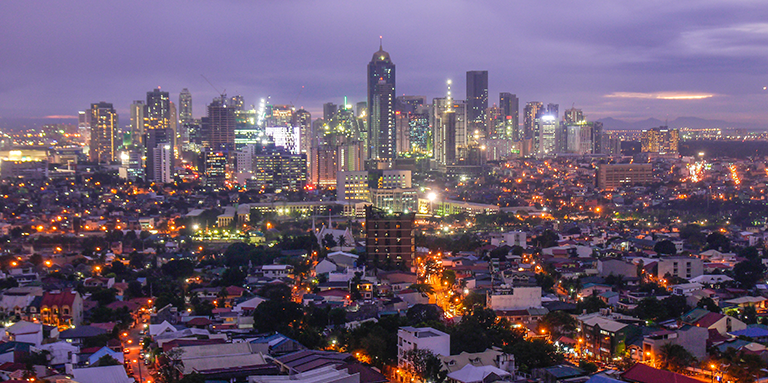 Nighttime lights can approximate some socioeconomic indicators when no other reliable data exist. Photo: ADB.