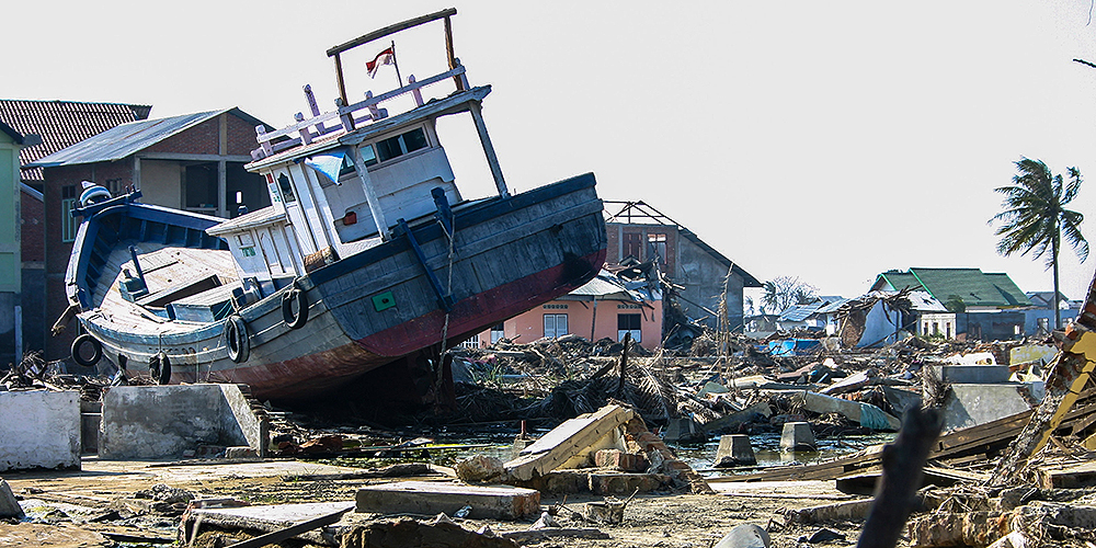 Rapid analysis of satellite images is crucial for post-disaster response. Photo credit: ADB.