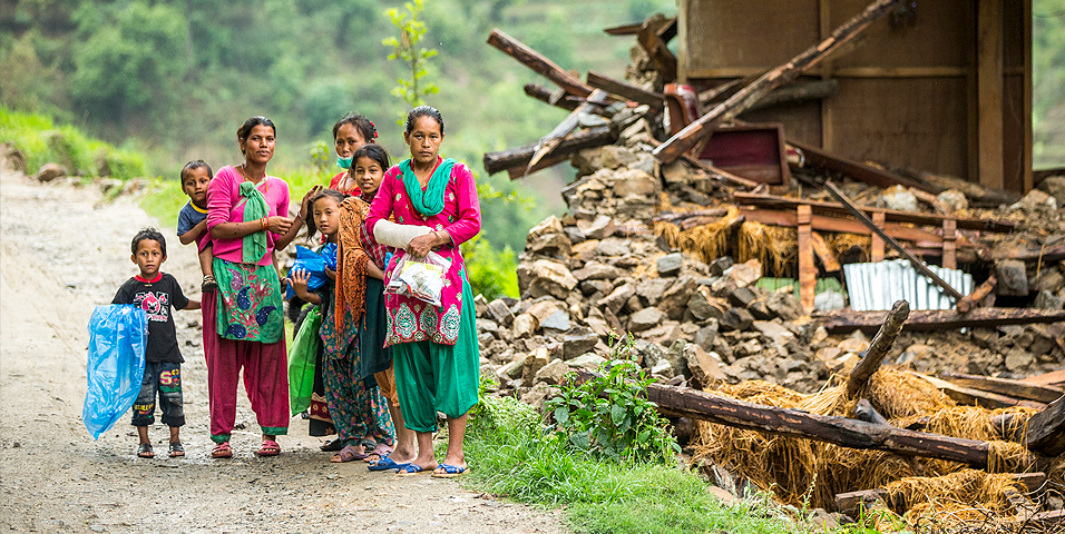 Many countries in Asia and the Pacific are at high risk of natural disasters, such as earthquakes, droughts, and floods, which result in loss of lives, livelihood, and property. Photo credit: ADB.