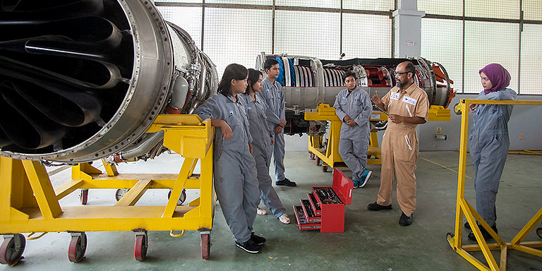 Quality education, skills training, and internships can improve the youth's access to decent jobs. Photo credit: ADB.