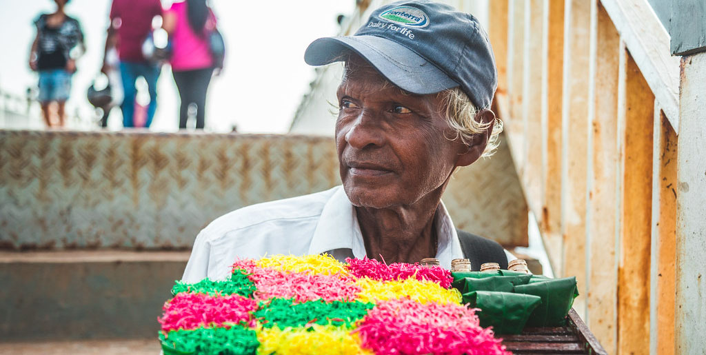 The participation of older adults in the labor force can help ensure old-age income security while lessening the care burden of the working-age population. Photo credit: Nazly Ahmed.