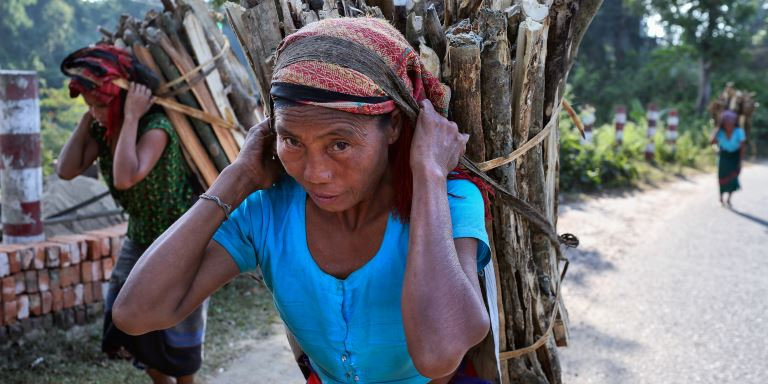 Good governance practices can improve the beneficiary selection and targeting of social assistance programs. Photo. ADB.