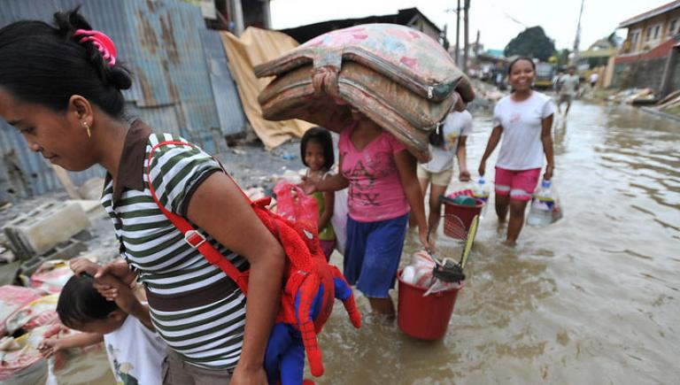 Poverty and lack of opportunities make women more vulnerable to climate and disaster risks. Photo credit: ADB.