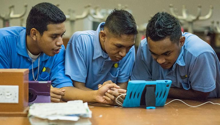 How to best leverage technology-mediated modalities in education is one of the postsecondary education challenges that must be addressed. Photo credit: ADB.