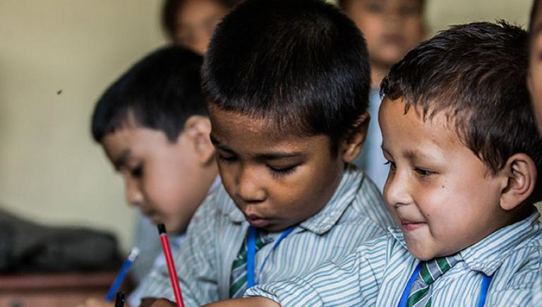 Increasingly, developing countries are looking to technology to increase the effectiveness of their education systems. Photo credits: ADB