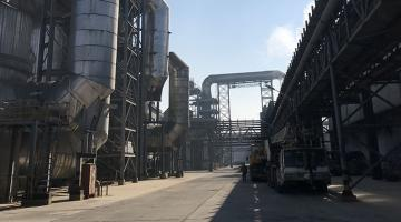 Reduced greenhouse gas emissions in Lufang's copper smelting plant in Dongying City, Shandong. Photo source: Lufang subproject.