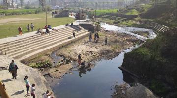 The success of the Bagmati River Basin Improvement Project depends on the active participation of communities and other stakeholders in conserving and managing basin water resources. Photo credit: ADB.