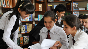 Education departments are using innovative partnerships to find ways to get more children into primary school and beyond. Photo credit: ADB.