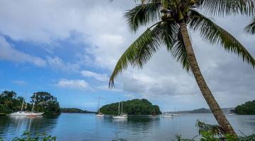 Developing renewable energy and water systems on small islands present significant challenges.  Photo credit: ADB