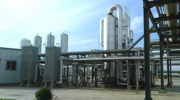 The ADB-supported loan promotes the recycling of coke oven flue gas, like the one operated in the Hebei Jingao New Energy Co. facility, to be used as clean energy source. Photo credit: Hebei Department of Finance.