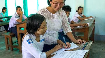 The Myanmar Government has initiated reforms in post-primary education. Photo credit: ADB.