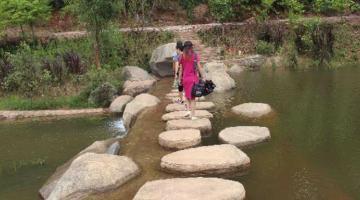 Pu'er City used natural materials and processes to rehabilitate the Simao River. Photo Credit: CDIA/Rudini Baoy.