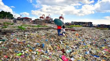 The rapid rise in waste in the country has pushed to the limit the capacity of the environment to assimilate waste without long-term damage. Photo exclusively licensed to ADB until 2024.