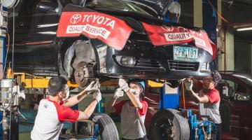 Toyota Motor Philippines School of Technology trains students to support Toyota's dealer network, providing them with both practical and customer interface skills. Photo credit: Toyota Motor Philippines.