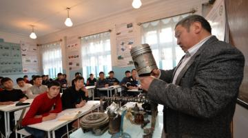 Students attending vocational schools in Karakol, Kyrgz Republic. Photo credit: ADB.
