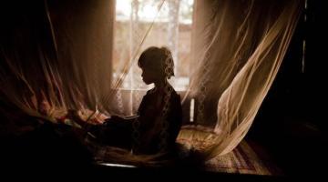 Mosquito nets protect children against malaria in Viet Nam. Photo credit: Justin Mott/ADB.