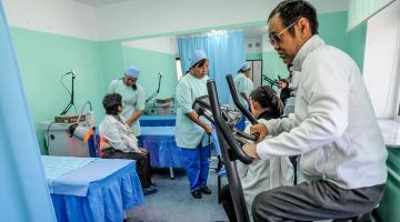 Rising life expectancy will increase the demand for long-term care for older persons. Photo credit: ADB.