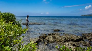 Healthy ecosystems increase the resilience of communities; their degradation can exacerbate climate impacts and place populations at risk. Photo credit: ADB.
