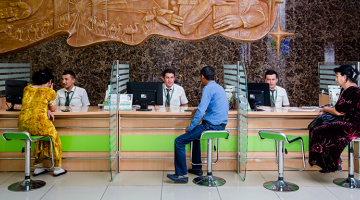 Distributed ledger technology could revolutionize Know Your Customer (KYC) procedures, which are used by banks to obtain information on their clients. Photo credit: ADB.