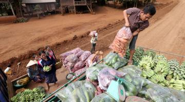 A problem in supply chains today is that farmers do not get paid upon delivery of their produce, while buyers lack access to finance that will enable them to pay farmers on time. Photo credit: ADB.