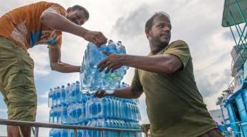 Community groups have helped make the implementation of the tsunami recovery program effective in Maldives. Photo credit: ADB.