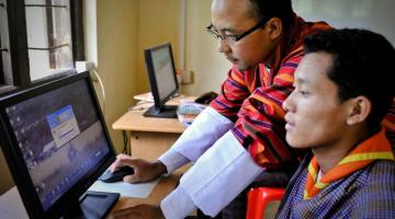 Reporting cyber attacks and being open about them is one key element of preventing them in the future. Photo credit: ADB.