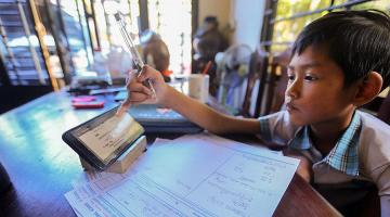 The COVID-19 pandemic has shown the importance of education technology in curriculum delivery and student assessment. Photo credit: ADB.