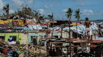 Typhoo Haiyan (Yolanda) in 2013 left billions of pesos worth of damage. Photo credit: ADB.