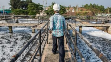 Cities are turning wastewater from an eyesore into something that is valued by industries. Photo credit: ADB.