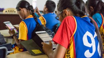 There is a need to develop education programs to improve digital financial literacy, focusing on skills that are likely to be critical for workers and consumers in the digital economy. Photo credit: ADB.