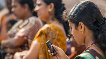 More people have a mobile phone than a bank account. Photo credit: ADB.