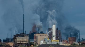 Coal-burning for energy, industry, and residential heating is the primary cause of air pollution in Asia. Photo credit: ADB.