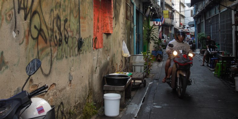 One program in Thailand helps improve housing standards in poor urban areas by providing financial assistance and partnering with NGOs and communities. Photo credit: ADB.