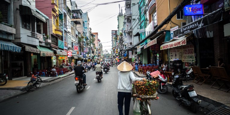 Viet Nam has made rapid progress in attaining its socioeconomic goals. However, the quality of urban growth is uneven, with many cities suffering from pollution and loss of natural capital. Photo credit: ADB.